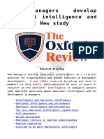The Oxford Review Research Briefing