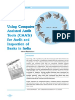 Using CAATs for Audit of Banks(1)
