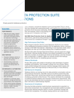EMC Data Protection Suite for App