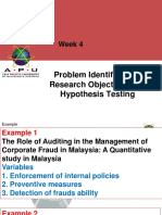 4 Problem, Objective, Questions and Hypothesis Masters 2018Sept 2018