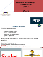 9. Scales and Questionaire Design Oct 2018 v1