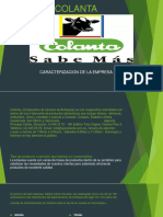 Evidencia 1 Presentación Caracterización de La Empresa Caracterizacion de Colanta