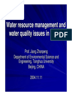 Aeration of Mixing and Equalization Basin