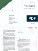 Carlos Borsotti Temas de Metodologc3ada de La Investigacic3b3n en Las Ciencias Sociales Empc3adricas