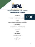 Unidad 3uapa Francisco Javier Gonzalez Psicologia General Tarea