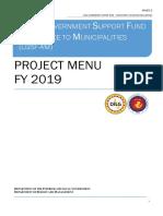 project menu AM
