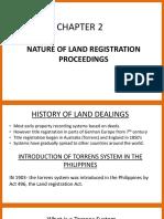 Land titles notes