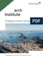 Csri Emerging Consumer Survey 2019