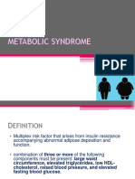Ppt Patobio Metabolic Syndrome Dr Tini