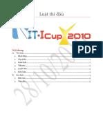 Luật thi đấu ITICup 2010 - 28/10/2010
