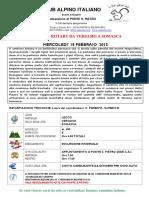 Sentiero Rotary Da Versasio a Somasca