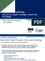 Cultural Sensitivity Wkshp