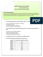 8º Básico diagnostico.doc