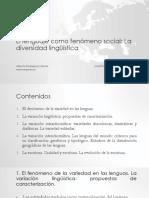 6.El Lenguaje Como Fenómeno Social