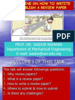 A Guideline on How to Write and Publish a Review Paper by Prof. Dr. Saidur Rahman.pdf