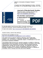 Terjemahan On borders and power A2003