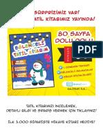 4 sınıf turkce sınavı
