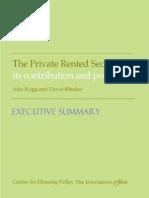 Rugg Report Exec Summary