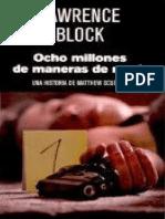 8 Millones de maneras de morir - Lawrence Block.pdf