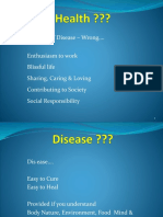 Health Philosophy thru Five Elements
