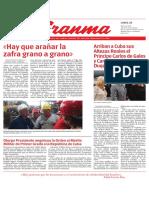 Diario Granma Cuba 25-03-2019 G_2019032501