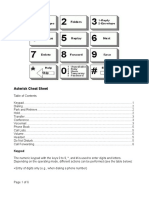 VoiceMail Cheat Sheet