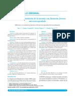 Anemia - Adherencia Al Tto Con s. Ferroso