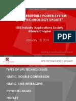 UPS Technology Update.ppt