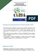 Campanha da Fraternidade 2019 texto-base.pptx