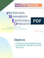 Experiencia EPS Tacna S.A.