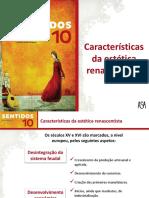 Características Da Estética Literária Renascentista