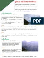 Las 8 regiones naturales del Perú.docx
