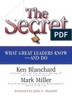 Ken Blanchard, Mark Miller, John C Maxwell - The Secret_ What Great Leaders Know and Do-Berrett-Koehler Publishers (2004).pdf