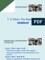 T.S. Eliot Seminar 2019.ppt