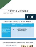 Planeación Argumentativa de Historia Universal