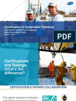 Certifying Sustainable Fishing Practices
