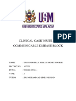 Clinical Case Write Up Sample 2