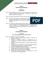 Reglamento General de Admisión 2016