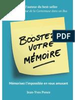 Boostez votre mémoire