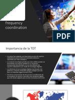 Coordinación de Frecuencia TVDT