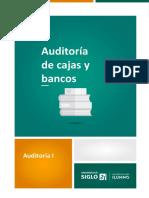 9-Auditoría de Cajas y Bancos