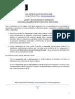 Evaluación Consultoría Para Evaluar PEI 2018 Terminado