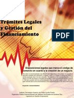 Disposiciones Legales Que Marca El Código de Comercio en Cuanto a La Creación de Un Negocio.