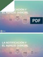 LA NOTIFICACION Y EL AUXILIO JUDICIAL.pdf