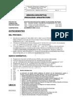 Memoria Descriptiva Arquitectura (Nxpowerlite)