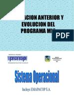 Evolucion Sistema Operacional