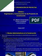 Unidad 2 Organización y comunicación en los proyectos de construcción.ppt
