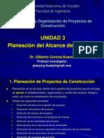 Unidad 3 Planeación del Alcance del Proyecto.ppt