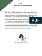 Lab manual for sensory evaluation