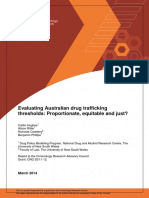 Evaluating Australian Drug Use